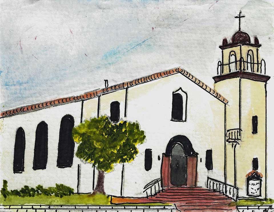 St. Didacus Parish Drawing